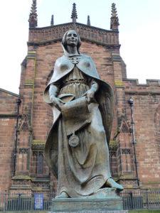 Statue of Lady Wulfrun